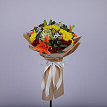 Vibrant Floral Wishes For You: Lilies to Oman