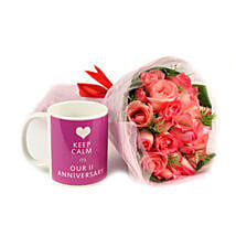 Anniversary Special Gift Combo: Send Flowers to Pakistan