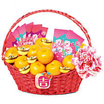 Basket Of Mandarin Oranges: Gifts to Davao City