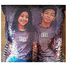 Cute Couple Personalized Mermaid Cushion: Mother's Day Gifts Philippines