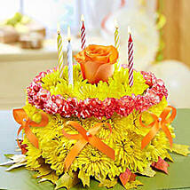 Shining Cake: Send Carnations to Philippines