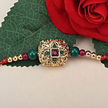 Traditional Antique Rakhi POR: Send Rakhi to Portugal