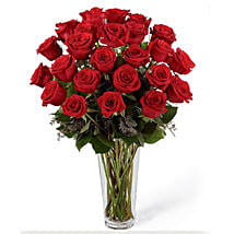 24 Red Roses Arrangement: Thanks Gifts to Saudi Arabia