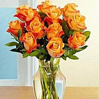 Dozen Orange Roses: Send Anniversary Flowers to Saudi Arabia