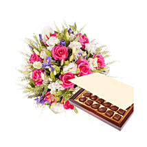 Princess Pink with Chocolates: Romantic Gifts to Saudi Arabia
