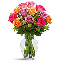 Pure Enchantment Rose Bouquet: Rose Day Gift Delivery in Saudi Arabia