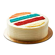 Rainbow Cake 2kg: Cake Delivery in Saudi Arabia