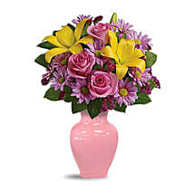 Spring Serenade Bouquet: Christmas Gifts Delivery In Saudi Arabia