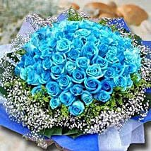 99 Blue Roses: Mother's Day Gifts to Singapore
