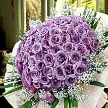 99 Purple Roses: Roses Delivery in Singapore