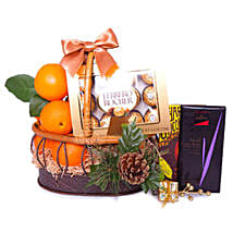 Basket Of Indulgence: Gift Hampers to Singapore