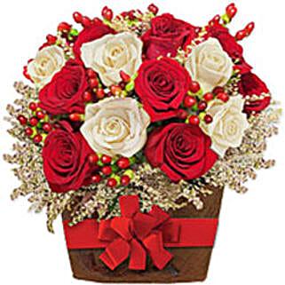 Charming Affluence sing: Christmas Flowers Singapore