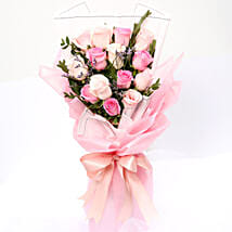 Dreamy Mixed Roses Bouquet: Roses To Singapore