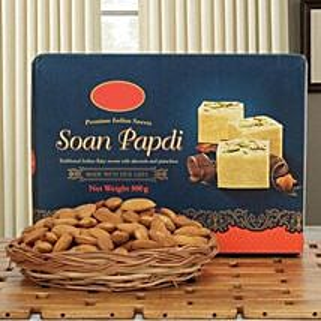 Soan N Almond Hamper: Rakhi Gifts for Sister in Singapore
