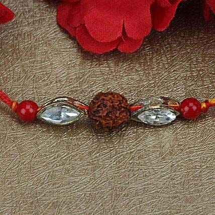 Love For Rudraksha Rakhi SA