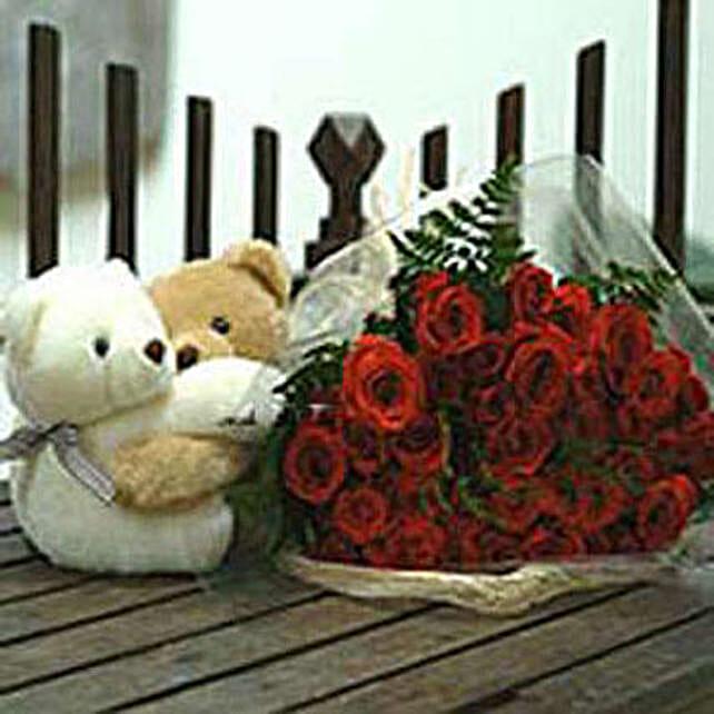Twin Hearts bouquet