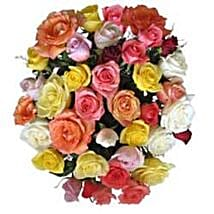 15 Mix Roses in Cello SA: Rose Day Gift Delivery in South Africa