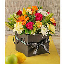 Birthday Flowers in a Box: Christmas Gifts to South Africa
