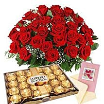 Choco flower Medley: Xmas Gift Delivery South Africa