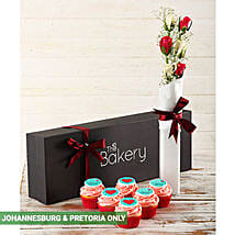 For You Flour and Flower Love Box: New Year Cake Delivery in South Africa