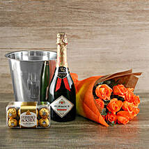 Orange Passion Gift Of Romance: Send Romantic Gifts to South Africa