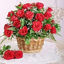 Red Rose Basket: Send Gifts to South Africa