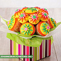 Thank You Cupcake Bouquet: X-Mas Gift Delivery South Africa