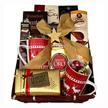 Coffee with Monika Christmas Gift Basket: Send Gifts to Spain