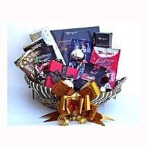 Holiday coffee and Sweets Gift Basket: Corporate Hampers to Spain