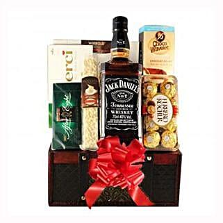 Jack Daniels Gift Basket: Send Gifts to Spain