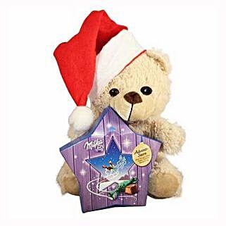My Sweet Milka Teddy Christmas Star: Send Gifts to Spain