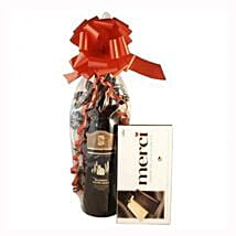 Red Wine and Chocolate: Gifts to Spain