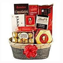 The Sweetvaganza Gift Basket: Gifts to Spain
