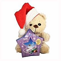 My Sweet Milka Teddy Christmas Star: Send Gifts to Sweden