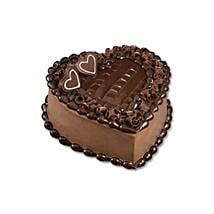 Chocolate Heart Cake: Valentine's Day Gifts to Thailand