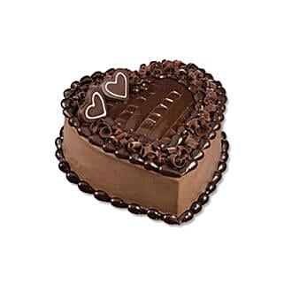 Chocolate Heart Cake: Gifts to Turkey