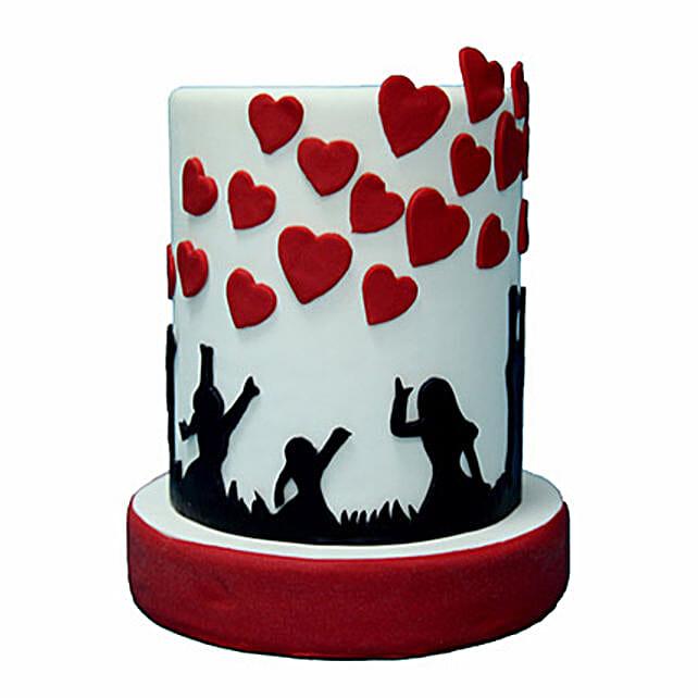 3D Love Cake