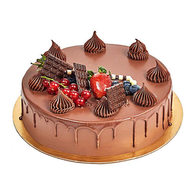 4 Portion Fudge Cake