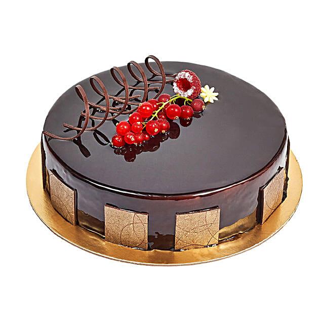 500gm Eggless Chocolate Truffle Cake