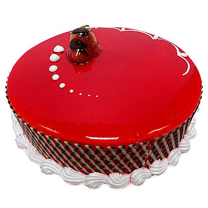 500gm Strawberry Carnival Cake