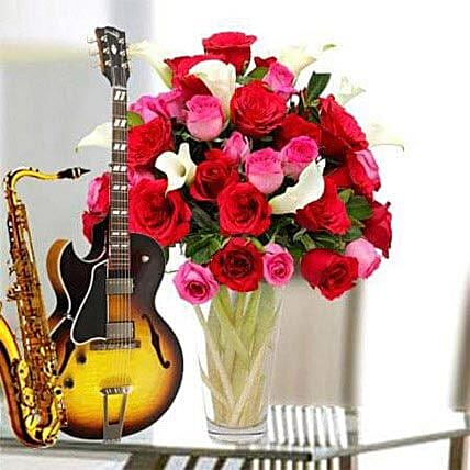A song and flowers for love