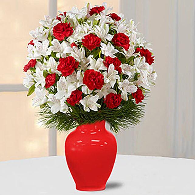 Alstromeria N Carnations