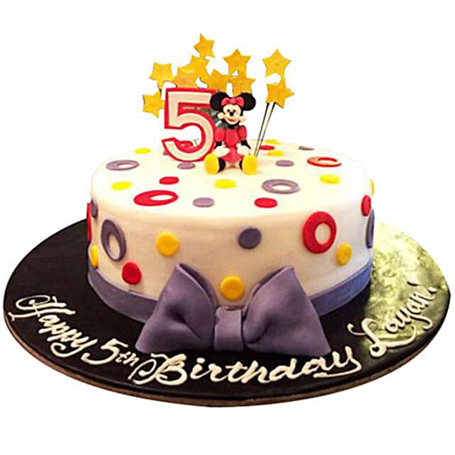 Amazing Minnie Cake