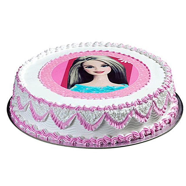 Barbie Special Cake