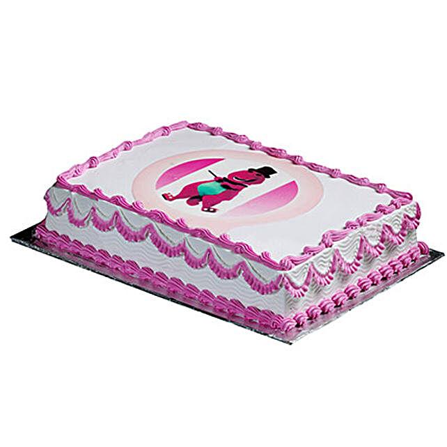 Barney Special Cake
