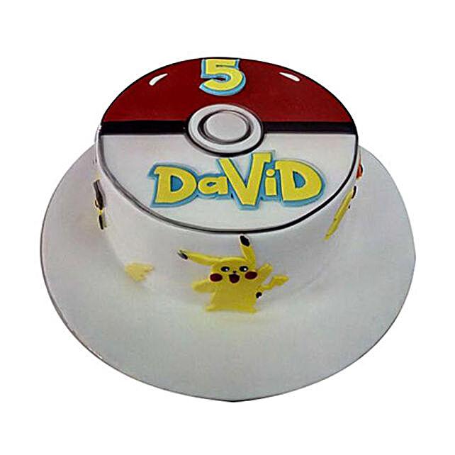 Classic Pokemon Cake