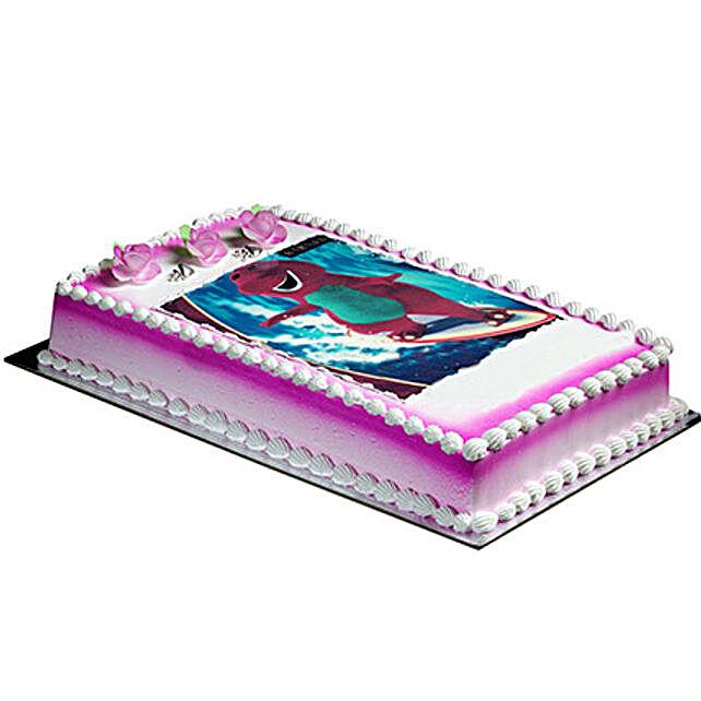 Designer Barney Cake