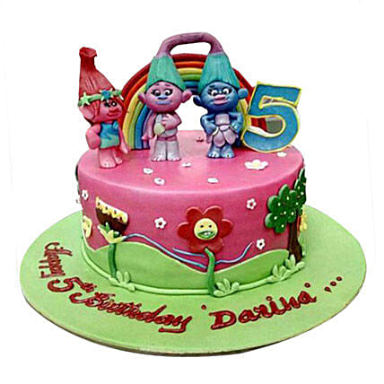 Dwarfs Cartoon Cake
