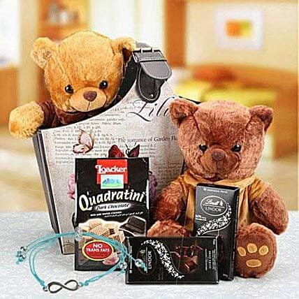 Hamper with Friendship Band