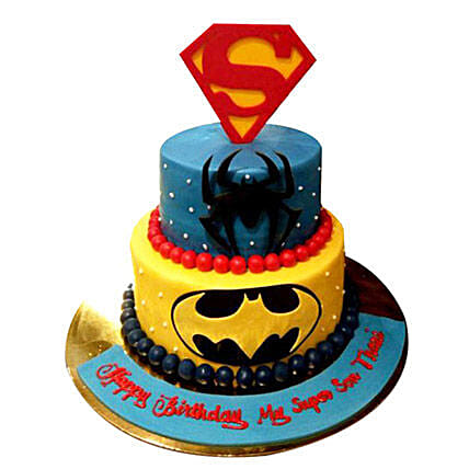 Heroes together Cake